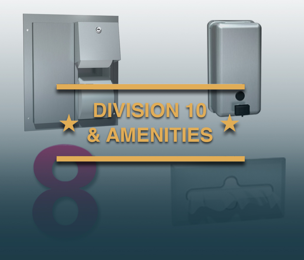 Division 10 Products and Amenities
